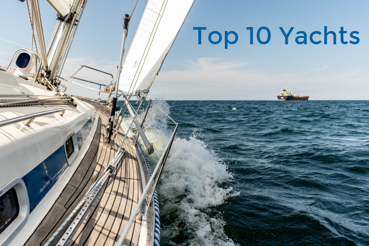 Top 10 yachts of 2019 and their Features