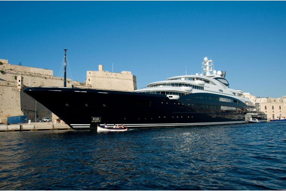 Top 5 best and most beautiful yachts in the world
